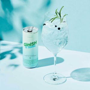 GinISH & Tonic, 4 x 250 ml.